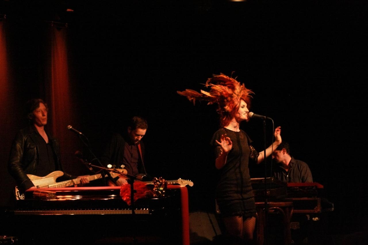 So schön war's mal: June Cocó und Band in der naTo. Foto: Alexander Böhm
