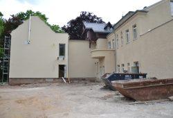 Fast fertig: KAOS-Villa während des Umbaus. Foto: Kulturwerkstatt KAOS