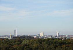 Leipzig im Panorama: Hier braucht es wirklich keine Fracking-Bohrtürme. Foto: Matthias Weidemann
