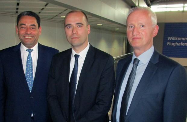 Neues Führungstrio für die MFAG: Markus Kopp, Johannes Jähn und Dieter Köhler (v.l.). Foto: MFAG