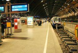 Nahverkehrszug nach Geithain im Hauptbahnhof Leipzig. Foto: Ralf Julke