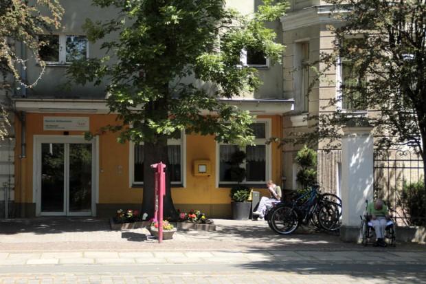 """Städtisches Altenpflegeheim """"Am Rosental"""". Foto: Martin Schöler"""