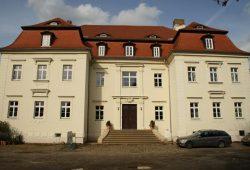 Das sanierte Schloss in Markkleeberg. Foto: Ralf Julke