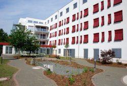"""Das Sozialzentrum """"An den Gärten"""". Foto: Uwe Schürmann"""