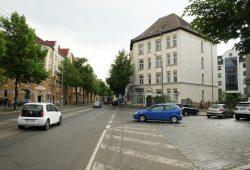 Geht im Herbst in Betrieb: Stöckelstraße 62. Foto: Ralf Julke