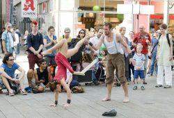 Straßentheatertage 2014. Foto: Hannes Fuhrmann