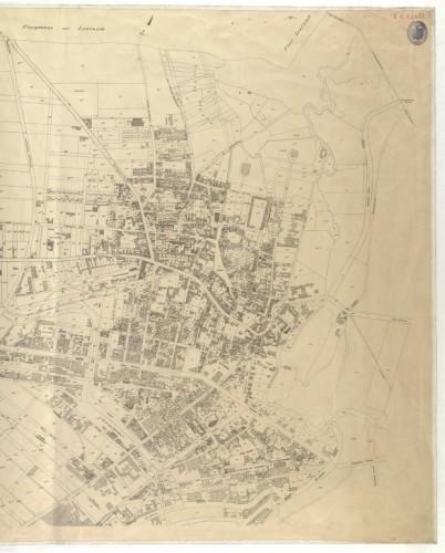 Das Dorf Lindenau Ende des 19. Jahrhunderts. Quelle: Stadtarchiv