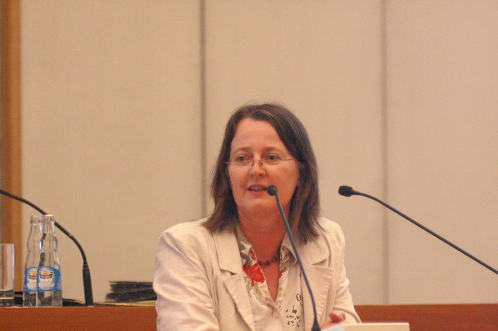 Annette Körner (Die-Grünen). Foto: L-IZ.de