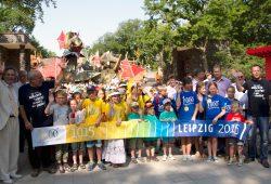 1.000 Kinder zur Eröffnung der Bärenburg eingeladen. Foto: Zoo Leipzig
