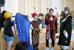 Kaufmann, Baumeister, Bürgermeister Hieronymus Lotter (Nico Lietzsch) und Gattin Katharina. Foto: Karsten Pietsch