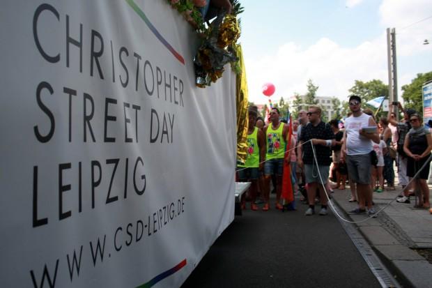 Christopher Street Day Leipzig. Foto: Alexander Böhm
