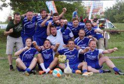 Das Trebbiner Fürstentum war in diesem Jahr das stärkste Team beim Daniel-Nivel-Cup in Leipzig. Foto: AN