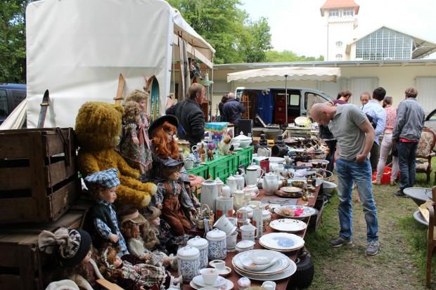 Flohmarkt im Scheibenholz. Quelle: Westend-PR