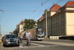 Der Straßenabschnitt der Georg-Schumann-Straße im heutigen Zustand. Foto: Ralf Julke