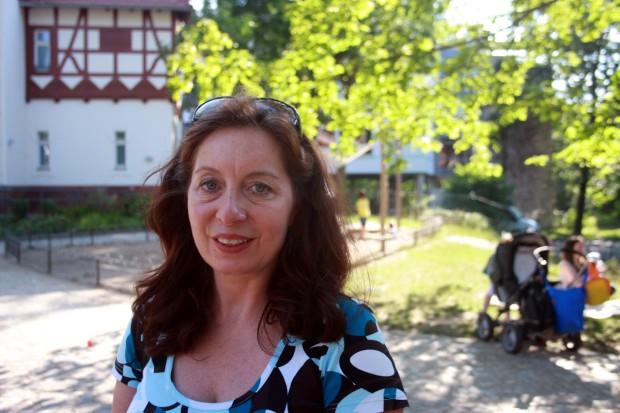 Ina Lackert vom Pandechaion Herberge e.V. Foto: Alexander Böhm