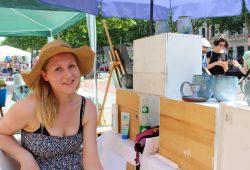 Keramikerin Juliane Kruse. Foto: Volly Tanner
