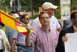 Holger Szymanski hat am Donnerstag alle Ämter innerhalb der NPD niedergelegt. Foto: Martin Schöler