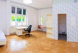 Musterapartment im sanierten Gebäude. Foto: Swen Reichhold