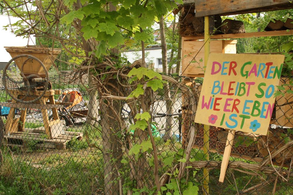 Seit 2014 von der Bebauung bedroht: Nachbarschaftsgärten in der Josephstraße in Lindenau. Foto: Ralf Julke