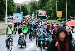 Auftakt fürs Leipziger Stadtradeln 2015 war die Radnacht am 19. Juni. Foto: Matthias Uhlig , Ökolöwe