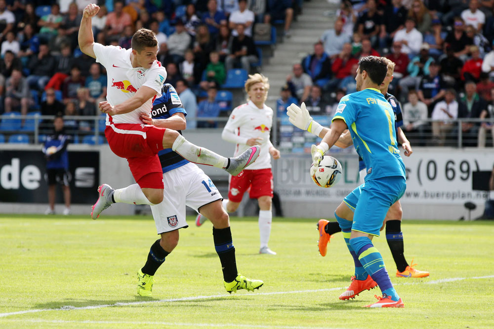 Marcel Sabitzer erzielte das 1:0. Foto: GEPA-Pictures