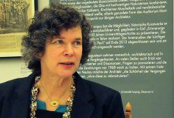 Aktuelle Rektorin der Uni Leipzig: Prof. Beate Schücking. Foto: Ralf Julke