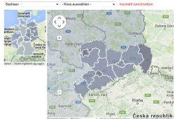 Interaktive Caritas-Karte zu Schulabgängern 2013 ohne Abschluss. Screenshot: L-IZ