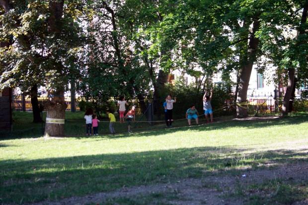 Spielende Kinder. Foto: Alexander Böhm
