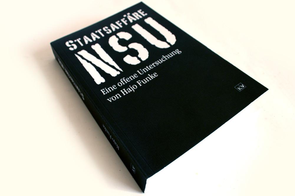 Hajo Funke: Staatsaffäre NSU. Foto: Ralf Julke