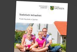 Statistisch betrachtet – Private Haushalte in Sachsen