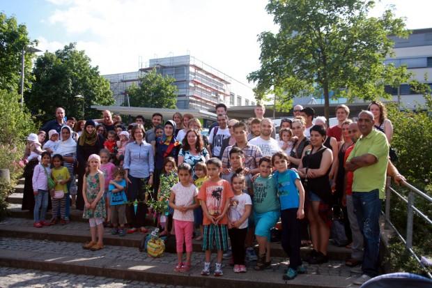Teilnehmer und Schüler der Kurse. Foto: Alexander Böhm