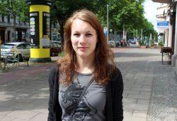 Die Kapitänin der TuSsis Leutzsch Miri Vohla. Foto: Volly Tanner