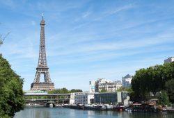 Der Pariser Eiffelturm - weltweit bekanntes Wahrzeichen der Seine-Metropole. Foto: Patrick Kulow