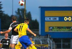 1. FC Lok vs. Sandersdorf: Weit und breit kein Tor. Foto: Jan Kaefer