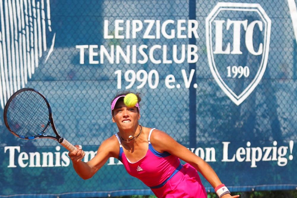 Die Siegerin des ITF-Weltranglistenturniers: Valeriya Strakhova (Ukraine). Foto: Jan Kaefer.