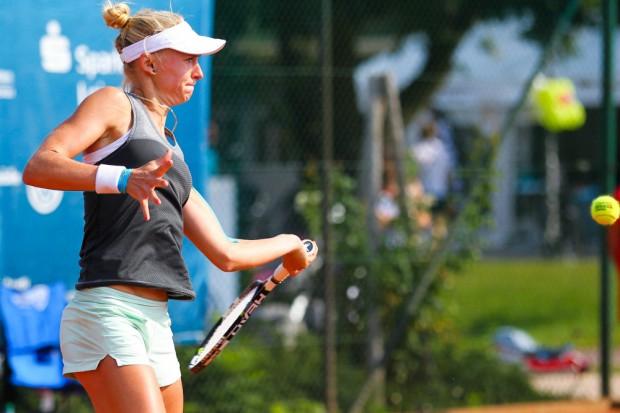 Jil Teichmann aus der Schweiz ist die Siegerin des ISM-Turniers der Frauen. Foto: Jan Kaefer
