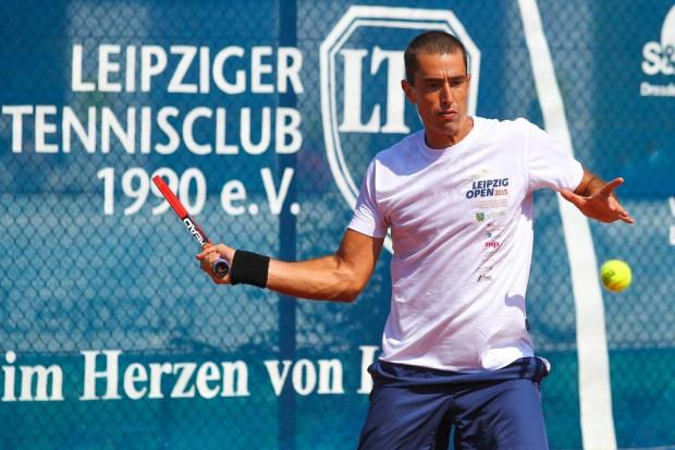 Leonardo Kirche gewann als erster LTC-Spieler eine Internationale Sächsische Meisterschaft (ISM). Foto: Jan Kaefer