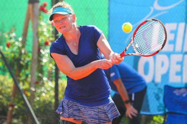 Finalistin Zuzana Zalabska war angeschlagen in die Partie gegangen. Foto: Jan Kaefer