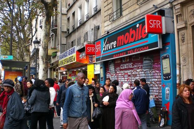 Sonntagnachmittag in Montmartre. Das hier hat nichts mit den Postkartenmotiven zu tun. Foto: Patrick Kulow