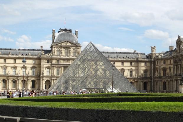 Der Louvre im 1. Arrondissement. Foto: Patrick Kulow
