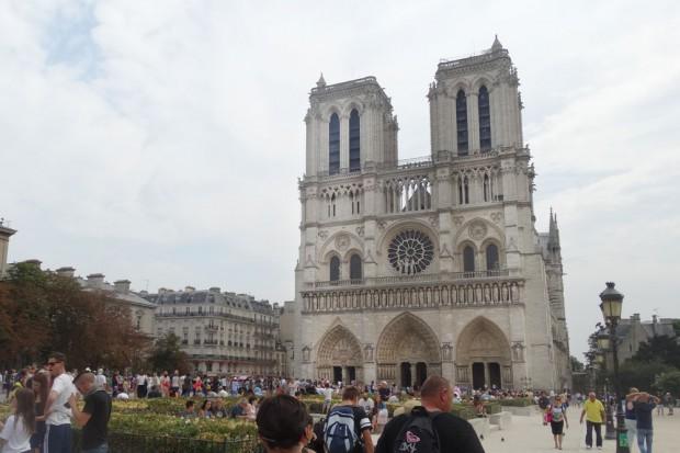 Die Kathedrale Notre-Dame im 4. Arrondissement. Foto: Patrick Kulow