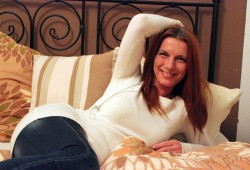 TV-Moderatorin und Lebenshelferin Anja Burkhardt. Foto: Volly Tanner