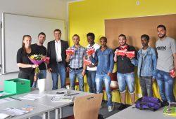 DRK-Bildungswerk dankt DAMF. Foto: DRK