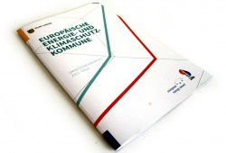 """Umsetzungsbericht """"Europäische Energie- und Klimaschutzkommune"""". Foto: Ralf Julke"""