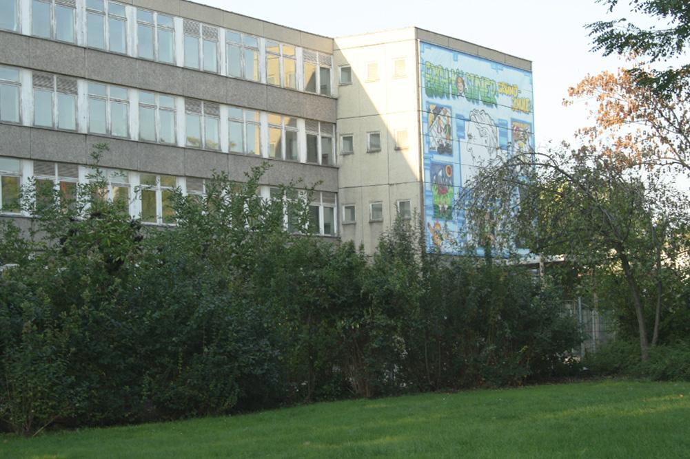 Soll langfristig doch wieder Grundschule werden: das alte Haus der Erich-Kästner-Schule. Foto: Ralf Julke