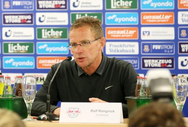 Ralf Rangnick sah in Frankfurt noch keine Glanzleistung. Foto: GEPA Pictures