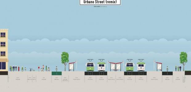 Ganz große Vision aus der Bürgerwerkstatt: ein richtiger Bahnhofsvorplatz. Grafik: Alexander John / ADFC Leipzig