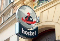 Homeplanet Hostel in der Bornaischen Straße. Foto: Alexander Böhm