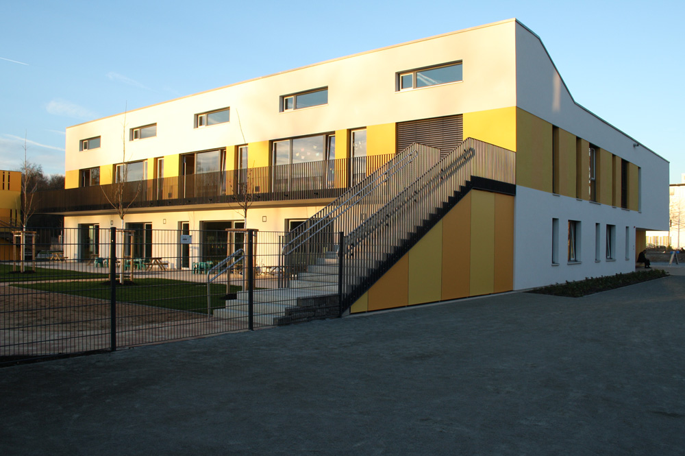 2014 eröffnet: Kita in der Goyastraße. Foto: Ralf Julke
