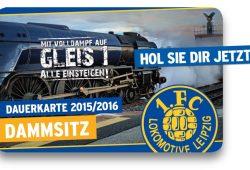 So sieht die ab nun noch begehrtere Lok-Dauerkarte aus. Foto: 1. FC Lokomotive Leipzig